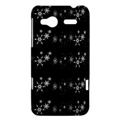 Black elegant  Xmas design HTC Radar Hardshell Case