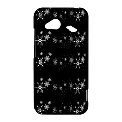 Black elegant  Xmas design HTC Droid Incredible 4G LTE Hardshell Case
