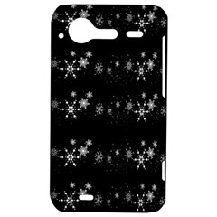 Black elegant  Xmas design HTC Incredible S Hardshell Case