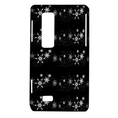 Black elegant  Xmas design LG Optimus Thrill 4G P925