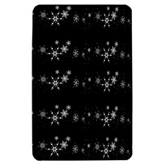 Black elegant  Xmas design Kindle Fire (1st Gen) Hardshell Case