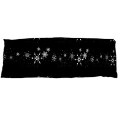 Black elegant  Xmas design Body Pillow Case (Dakimakura)