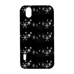 Black elegant  Xmas design LG Optimus P970