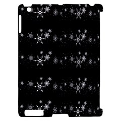 Black elegant  Xmas design Apple iPad 2 Hardshell Case (Compatible with Smart Cover)