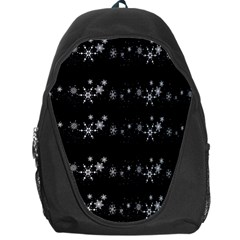 Black elegant  Xmas design Backpack Bag
