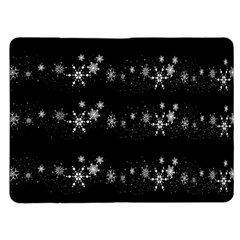 Black elegant  Xmas design Kindle Fire (1st Gen) Flip Case