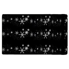 Black elegant  Xmas design Apple iPad 2 Flip Case