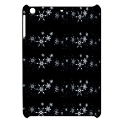 Black elegant  Xmas design Apple iPad Mini Hardshell Case