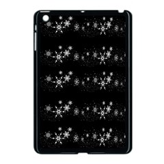 Black elegant  Xmas design Apple iPad Mini Case (Black)