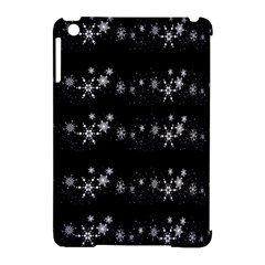 Black elegant  Xmas design Apple iPad Mini Hardshell Case (Compatible with Smart Cover)