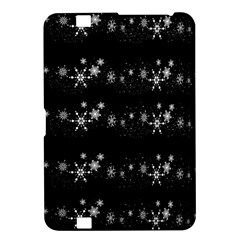 Black elegant  Xmas design Kindle Fire HD 8.9