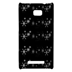 Black elegant  Xmas design HTC 8X