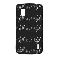 Black elegant  Xmas design LG Nexus 4