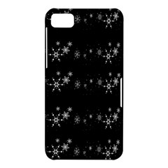 Black elegant  Xmas design BlackBerry Z10
