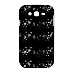 Black elegant  Xmas design Samsung Galaxy Grand DUOS I9082 Hardshell Case