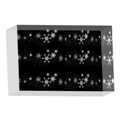 Black elegant  Xmas design 4 x 6  Acrylic Photo Blocks