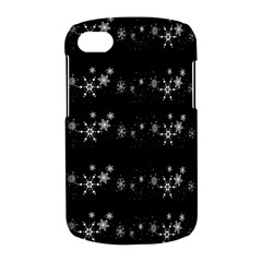 Black elegant  Xmas design BlackBerry Q10