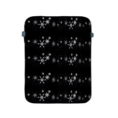 Black elegant  Xmas design Apple iPad 2/3/4 Protective Soft Cases