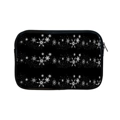 Black elegant  Xmas design Apple iPad Mini Zipper Cases
