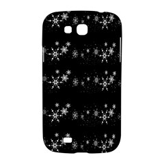 Black elegant  Xmas design Samsung Galaxy Grand GT-I9128 Hardshell Case