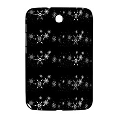 Black elegant  Xmas design Samsung Galaxy Note 8.0 N5100 Hardshell Case
