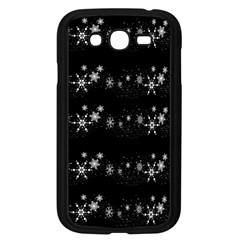Black elegant  Xmas design Samsung Galaxy Grand DUOS I9082 Case (Black)