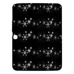Black elegant  Xmas design Samsung Galaxy Tab 3 (10.1 ) P5200 Hardshell Case