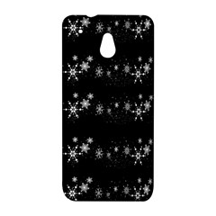 Black elegant  Xmas design HTC One Mini (601e) M4 Hardshell Case