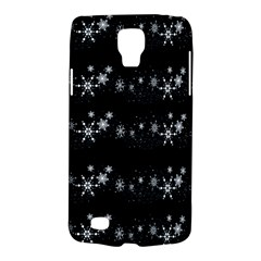 Black elegant  Xmas design Galaxy S4 Active