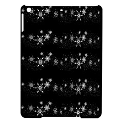 Black elegant  Xmas design iPad Air Hardshell Cases