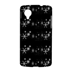 Black elegant  Xmas design LG Nexus 5