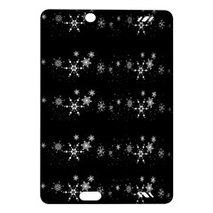 Black elegant  Xmas design Amazon Kindle Fire HD (2013) Hardshell Case