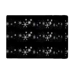 Black elegant  Xmas design iPad Mini 2 Flip Cases