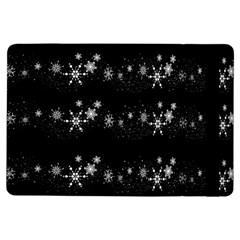 Black elegant  Xmas design iPad Air Flip