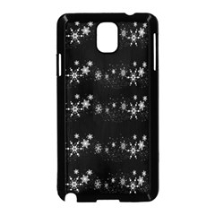 Black elegant  Xmas design Samsung Galaxy Note 3 Neo Hardshell Case (Black)