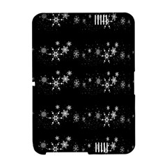 Black elegant  Xmas design Amazon Kindle Fire (2012) Hardshell Case