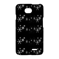 Black elegant  Xmas design LG Optimus L70