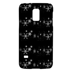 Black elegant  Xmas design Galaxy S5 Mini