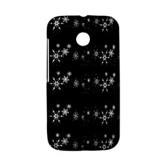 Black elegant  Xmas design Motorola Moto E