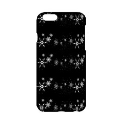 Black elegant  Xmas design Apple iPhone 6/6S Hardshell Case