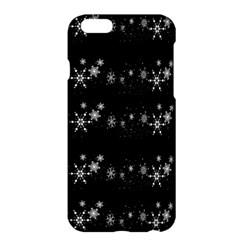 Black elegant  Xmas design Apple iPhone 6 Plus/6S Plus Hardshell Case