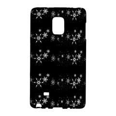 Black elegant  Xmas design Galaxy Note Edge