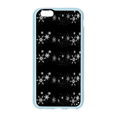 Black elegant  Xmas design Apple Seamless iPhone 6/6S Case (Color)