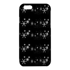 Black elegant  Xmas design iPhone 6/6S TPU Case