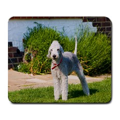 Bedlington Terrier Full Large Mousepads