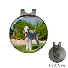 Bedlington Terrier Full Hat Clips with Golf Markers