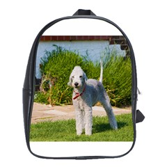 Bedlington Terrier Full School Bags(Large)