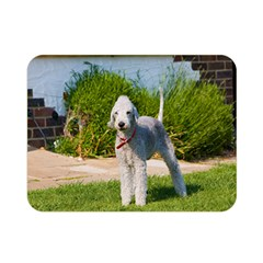 Bedlington Terrier Full Double Sided Flano Blanket (Mini)