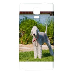 Bedlington Terrier Full Galaxy Note 4 Back Case