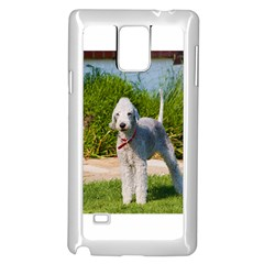 Bedlington Terrier Full Samsung Galaxy Note 4 Case (White)